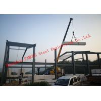 Buy cheap Prefabricated Q345B Column Industrial Metal Buildings With FASEC Prefab - I from wholesalers