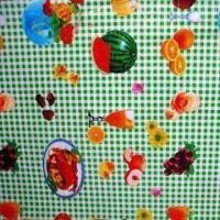 China Waterproof Plastic Table Cloths with 0.1 to 0.2mm Thickness, Made of PEVA wholesale