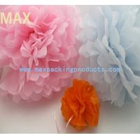 Quality 2015 Hot sale!!! Colorful decoration tissue paper pom poms for sale