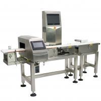 China Waterproof Combo Online Checkweigher And Metal Detector Machine Stable , ± 0.1g Accuracy wholesale