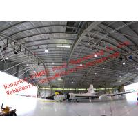 China Water Proof Insulated Prefabricated Steel Structure Aircraft Hangar For Private Usage wholesale
