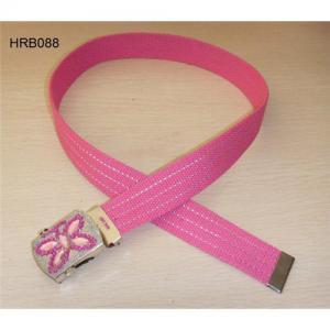 Children's belt, kid's cotton belt, china cotton belt supplier