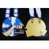 China Zinc alloy Die Casing Metal Carnival Custom Sports Medals Marathon Half 10k 5k Medallion wholesale