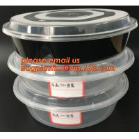 China Reusable Take Away Plastic Salad Bowl With Fork And Dressing box and Source Container,Disposable take away plastic salad wholesale