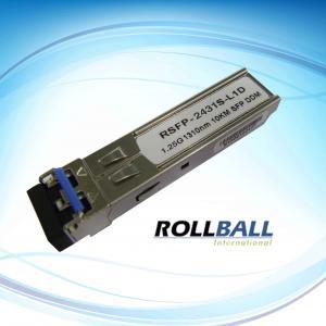 China Cisco SFP Transceiver Module With SM ,1.25g ,80km ,1310nm SFP Module wholesale