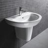 Quality A32221 Bathroom unique Pedestal Wash Basin counter glass basins for bathrooms for sale