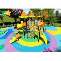 China Kindergarten Plastic Kids Outdoor Playground Equipment Eco Friendly Non Toxic Material wholesale