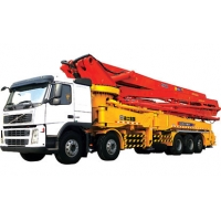 China 94m/H 279kw Truck Mounted Concrete Pump Road Construction Machinery wholesale