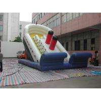 Quality Large Casino Playground Slide PVC  With Large Water Park for sale