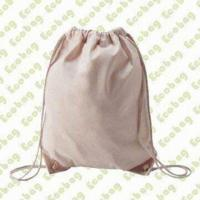 China Canvas/Organic Cotton Laundry Bag, Customized Sizes, Colors and Logos are Accepted wholesale