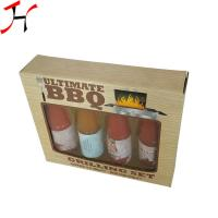 China Customized Size Paper Board Box Classic Style For Sauce Bottles wholesale