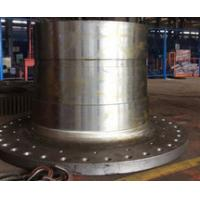 China CNC machined Turned Turning Machining Milling S235 rolled weld Mining Cement Coal Ball mill cast steel mill heads wholesale