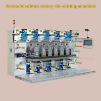 Quality 3000 * 2000 * 2200mm Rotary Label Die Cutting Machine With Slitting Function wholesale