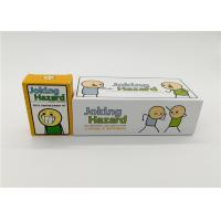 China Customized Cyanide And Happiness Cards With Different Size Paper Card Material wholesale