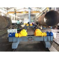 Buy cheap Hydraulic adjustable wind tower rotator rollers motorized moving Fit Up Welding from wholesalers