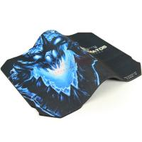 China best selling custom printed gaming mouse pads with rubber lamination/ mousepad with fabric surface wholesale