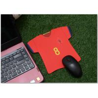 Buy cheap Custom Jersey Shape Soccer Team Marketing Promotional Gifts Mouse Pad Digital from wholesalers