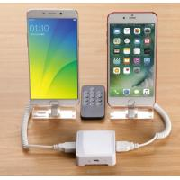 COMER 2 port burglar alarm systems mobile phone security holder with charging and alarm cables