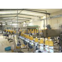 Quality 8000BPH Apple Fruit Juice Processing Line With Pet Bottle Package for sale