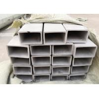 China Large Diameter Thin Wall Stainless Steel Tube , Square Welded Stainless Steel Pipes wholesale