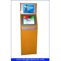 Quality Double Display Self-Service TouchScreen Kiosk , Vandal-Proof For Theater TSK9001-2D for sale