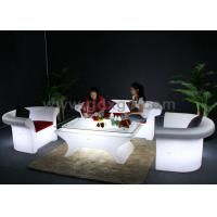 China Outdoor waterproof Wedding big sofa set  Chair Wireless Remote Control With Table wholesale