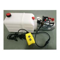 Quality Dump Trailer Hydraulic Power Pack Plastic Tank , DC 12V 2000W wholesale