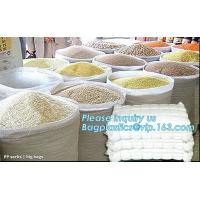China 25kg 50kg white recycled agriculture pp woven bag bopp laminated pp woven bags china manufacturers,,flour,rice,fertilize wholesale