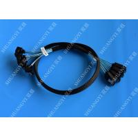 China 8 Inch SATA III 6.0 Gbps 7 Pin Female To Female Data Cable With Locking Latch Blue wholesale