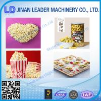 Buy cheap Cost-saving extruder Popcorn manufacturing machine from wholesalers