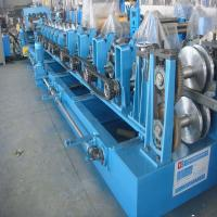 China Z Purlin Roll Forming Machine with Cr Bearing Steel 16 Groups Roller Station wholesale