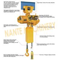 China Compact  0.5 ton 2 Ton Electric Hoist  For Crane / Travelling Type / Fixed Type wholesale