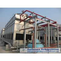 China Ebmpapst Fan Evaporative Cooled Condenser For Supermarket / Pharmacy Refrigeration on sale