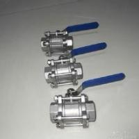 China 3-pc stainless steel ball valves FULL PORT 1000WOG,PN63 NPT BSPP BSPT API598 304 SS316 1/4 wholesale