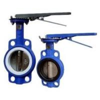China Manual Operated Wafer valve butterfly Ductile Iron GGG40 Body,PN16,JIS 10K,150LB wholesale
