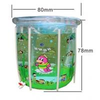 China Plastic Inflatable Swimming Pools With Crystal Double Bubbles For Kids wholesale