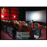 Quality Popular 3D Cinema Systems with Large Arc Screen and 3D Glasses for sale