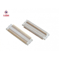 China 1.0mm Electrical Terminal Horizontal Needle Pcb Connectors Wire To Board on sale