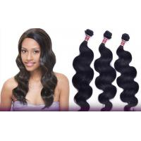 China Shedding Free One Donor Peruvian Remy Human Hair No Mixtures Double Weaving Hair wholesale