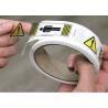 China Clear BOPP Printed Adhesive Electrical Warning Labels Shipping Carton wholesale