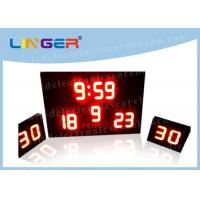 China Low Volatge and Current with Shot Clock Led Electronic Scoreboard for Waterpolo wholesale