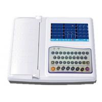 China 12 Channel Ecg Machine 7 Inch Electrocardiogram Equipment With Full Keyboard wholesale