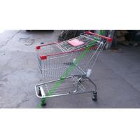 Buy cheap Supermarket Metal Hand Cart Wire Shopping Trolleys With Baby Seat from wholesalers