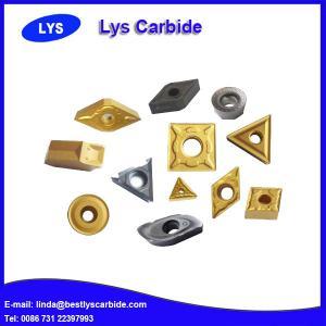 China High precision tungsten carbide inserts CCMT120408, CCMT120412 wholesale
