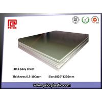 China Fr4 Dielectric Epoxy Sheet for Insulation Parts wholesale