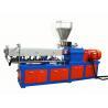 China Color masterbatch twin screw extruder machine PP PE masterbatch granulator wholesale