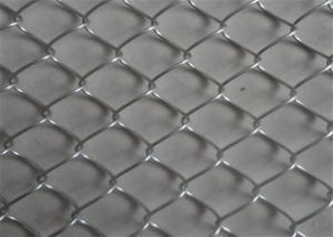 China Playground Metal Bwg14 Diamond Galvanized Chain Link Fence wholesale