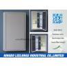 China Framed Hanging Silver Bathroom Mirror , Large Silver Framed Bathroom Mirrors wholesale