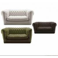 Customized Inflatable Sofa Chair Eco Friendly PVC For Home