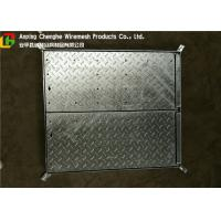China Galvanized Metal Driveway Drainage Grates , Hinge Stainless Steel Grates For Driveways wholesale